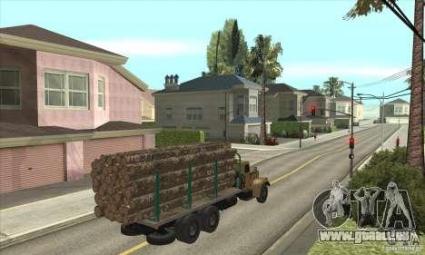 KrAZ-257 pour GTA San Andreas vue de droite