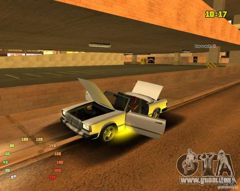 Extreme Car Mod SA:MP version pour GTA San Andreas troisième écran