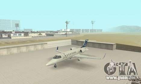 Bombardier Leardjet 45XR pour GTA San Andreas