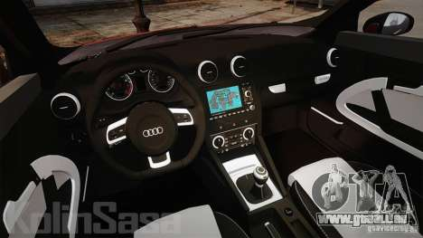Audi A1 Quattro für GTA 4 Rückansicht