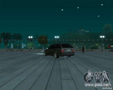 BMW E36 Touring pour GTA San Andreas laissé vue