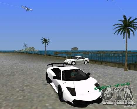 Lamborghini Murcielago LP670-4 SV pour GTA Vice City