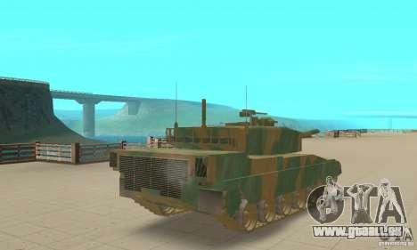 JGSDF Type90 Tank pour GTA San Andreas laissé vue