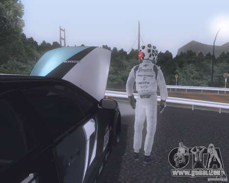 Matt Powers NFS Team für GTA San Andreas zweiten Screenshot