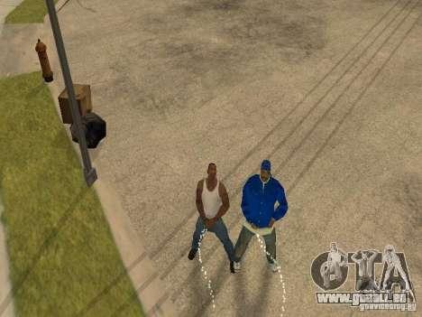 Sie können sitzen, Rauchen, trinken Whiskey, Erb für GTA San Andreas fünften Screenshot