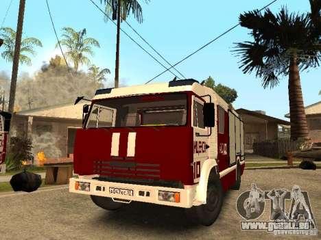 KAMAZ 43253 Rozenbauer pour GTA San Andreas