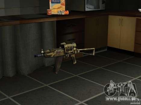 Pak version domestique armes 4 pour GTA San Andreas quatrième écran