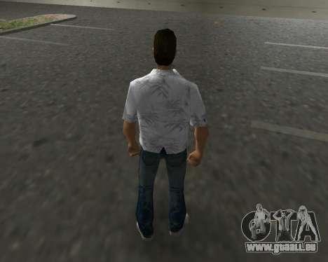 Chemise blanche GTA Vice City pour la troisième écran