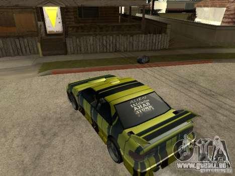 Vinyle pour Sultan pour GTA San Andreas vue de droite
