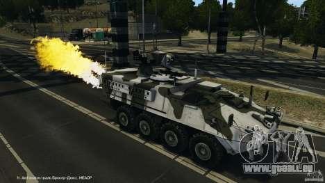 Stryker M1134 ATGM v1.0 für GTA 4 Innen