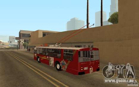 ZiU 682 für GTA San Andreas zurück linke Ansicht
