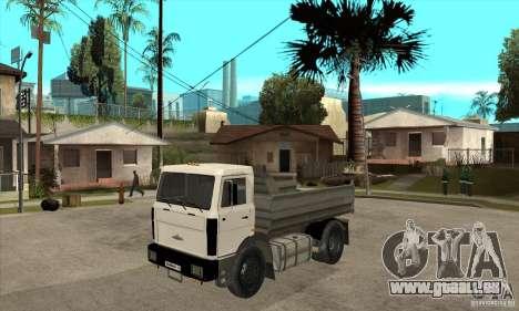 5551 MAZ LKW für GTA San Andreas