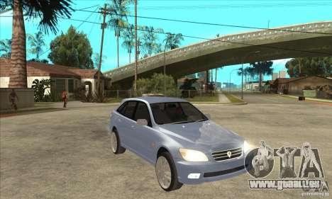 Toyota Alteza Wagon pour GTA San Andreas vue arrière