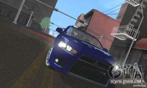 ENBSeries by dyu6 Low Edition pour GTA San Andreas onzième écran