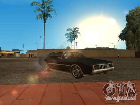 Qualität Blendung durch die Sonne für GTA San Andreas
