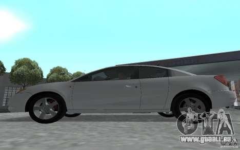 Saturn Ion Quad Coupe pour GTA San Andreas vue de droite