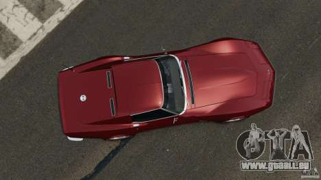 Chevrolet Corvette Stringray 1969 v1.0 [EPM] pour GTA 4 est un droit