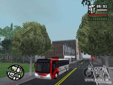 Caio Millennium TroleBus pour GTA San Andreas