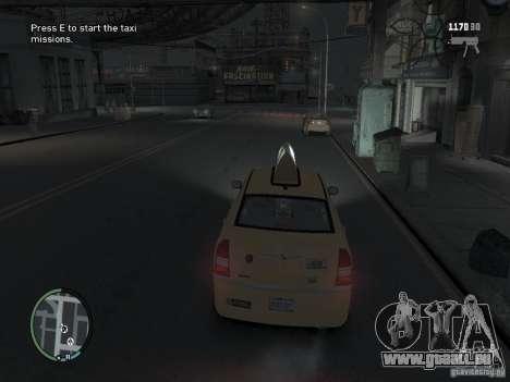 La Mission du chauffeur de taxi pour GTA 4 pour GTA 4 secondes d'écran