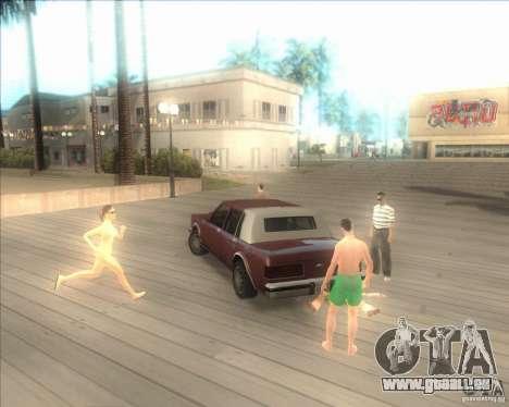 Mes paramètres ENBSeries HD pour GTA San Andreas deuxième écran
