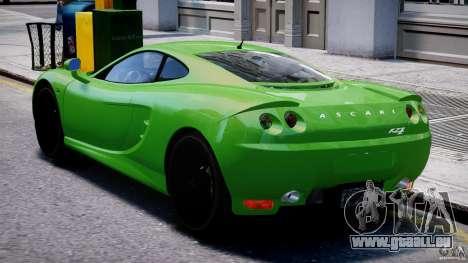 Ascari KZ-1 pour GTA 4 est un droit