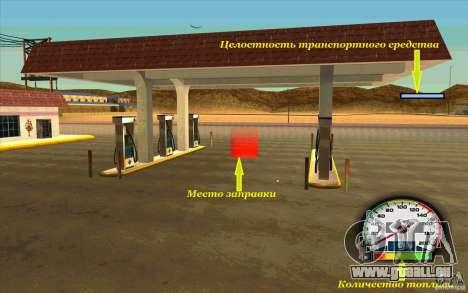 New Speedometer no transmissions für GTA San Andreas zweiten Screenshot