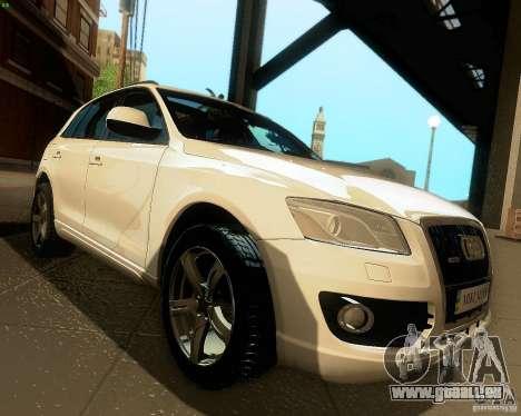 Audi Q5 für GTA San Andreas Innenansicht