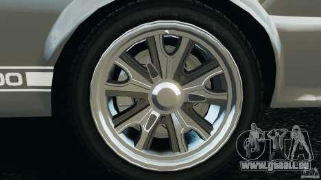 Shelby GT 500 Eleanor v2.0 pour GTA 4 vue de dessus
