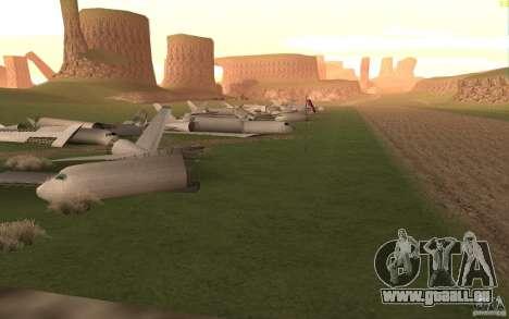 New desert pour GTA San Andreas septième écran