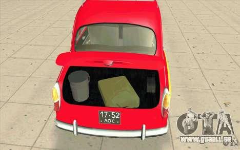 Moskvich 407 pour GTA San Andreas vue arrière