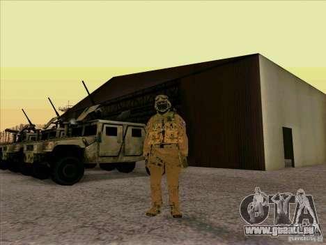 Amerikanische Morpeh für GTA San Andreas zweiten Screenshot