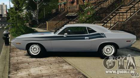 Dodge Challenger RT 1970 v2.0 für GTA 4 linke Ansicht
