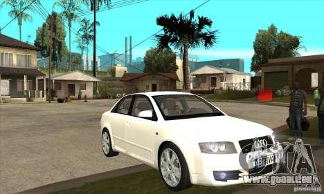 Audi S4 2004 pour GTA San Andreas vue arrière