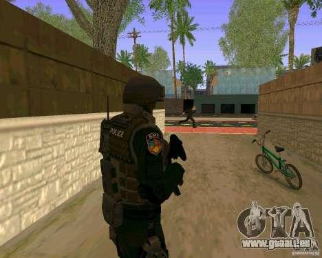 Die Haut der ukrainischen Spezialeinheiten für GTA San Andreas her Screenshot