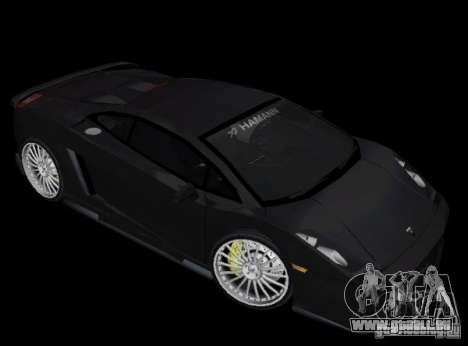 Lamborghini Gallardo Hamann Tuning für GTA Vice City linke Ansicht