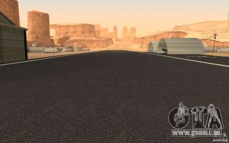 New Verdant Meadows Airstrip pour GTA San Andreas deuxième écran
