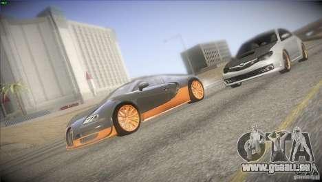 Bugatti Veyron Super Sport für GTA San Andreas