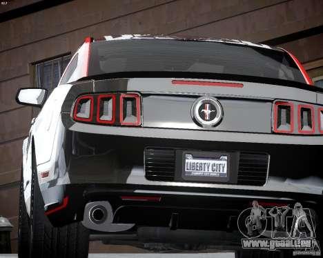 Ford Mustang Boss 302 für GTA 4 Seitenansicht