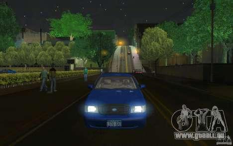 Ford Crown Victoria für GTA San Andreas Innenansicht