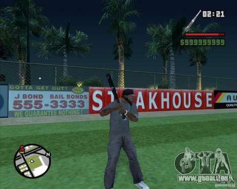 Bat HD pour GTA San Andreas troisième écran