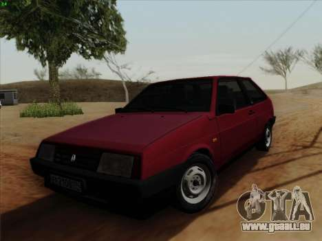 VAZ 21083i für GTA San Andreas linke Ansicht