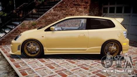 Honda Civic Type R 2005 pour GTA 4 est une gauche