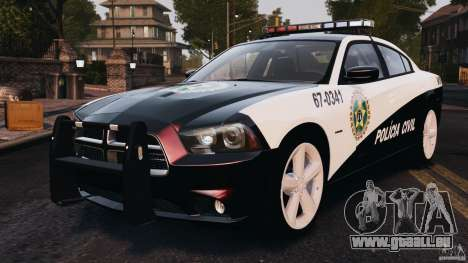 Dodge Charger RT Max Police 2011 [ELS] für GTA 4