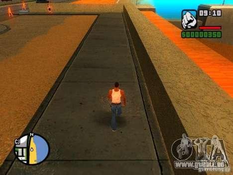 Textures de East Beach pour GTA San Andreas deuxième écran