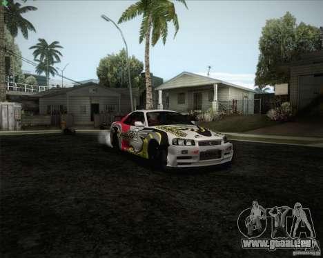 Nissan Skyline Z-Tune v2.0 für GTA San Andreas Motor
