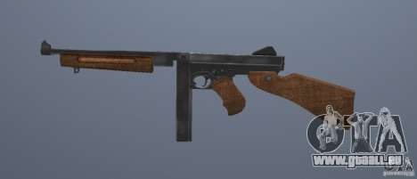 M1 Thompson für GTA San Andreas dritten Screenshot