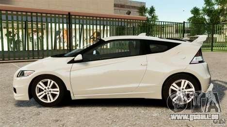 Honda Mugen CR-Z v1.1 pour GTA 4 est une gauche