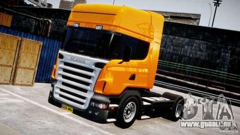Scania R500 pour GTA 4 Vue arrière