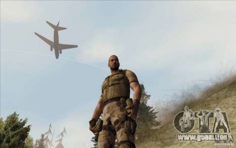 Sam Fisher Army SCDA pour GTA San Andreas