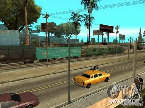 VL80K-548 pour GTA San Andreas vue intérieure